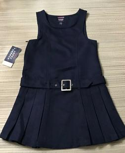 2 NEW U.S. POLO ASSN. GIRLS SCHOOL UNIFORM DRESSES SIZE 5 NA
