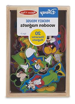 Melissa & Doug Disney Mickey Mouse Wooden Character Magnets