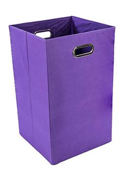 Modern Littles Folding Laundry Basket with Handles – High-