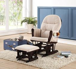 Naomi Home 20104 Brisbane Glider & Ottoman Set with Cushion