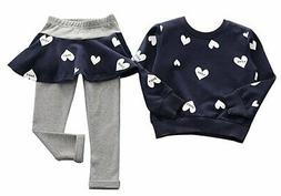 96a7d4928952 BomDeals Adorable Cute Toddler Baby Girls Clothes SetLong Sl