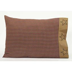 VHC Brands Americana Primitive Bedding - Patriotic Patch Red