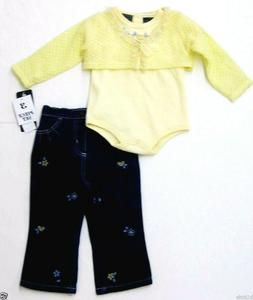 baby clothes girl body suit denim outfit