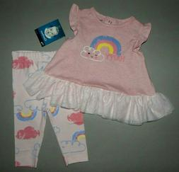 Baby girl clothes, 3-6 months, Gerber 2 piece set/   SEE DET