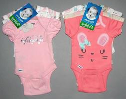 Baby girl clothes, Preemie, Gerber Organic 2 sets of 3 ORGAN
