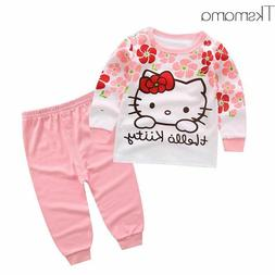 Baby Girl Hello Kitty Clothing Set Infant Clothes Newborn Cl