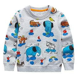 bcvhgd cars baby girls boys sweater shirt
