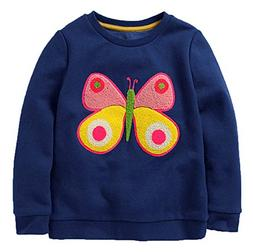 BCVHGD Sweater Bus Baby Girls Boys Shirt Kids Long Sleeve To