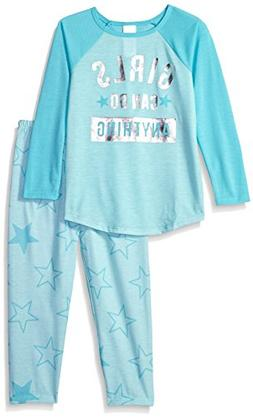 The Children's Place Big Girl Can Do Anything Themed 2 Piece