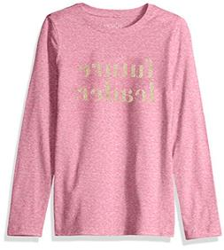 The Children's Place Big Girls' Long Sleeve Graphic Tees, Sa