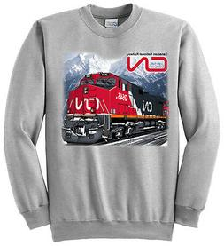 Canadian National C44-9W Authentic Railroad Sweatshirt