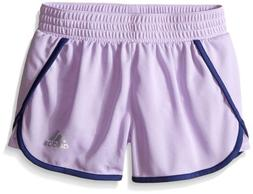 adidas Childrens Apparel  Big Girls Knit Short 3 Inseam