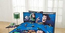 "Disney Toy Story ""Don't Toy with Us"" Excellent Bedding Set K"