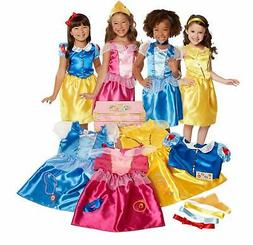 Disney Princess Dress Up Trunk Deluxe 21-Piece Amazon Exclus