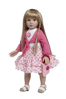 Starpath Blonde Girl Doll – 18' Vinyl, Included Custom Fai