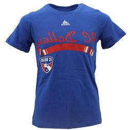 FC Dallas Official MLS Adidas Apparel Kids Youth Girls Size