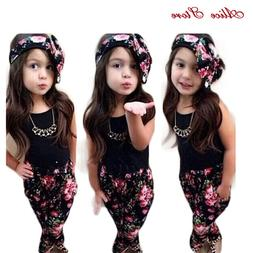 <font><b>Girls</b></font> Fashion floral casual suit childre