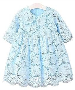 2Bunnies Girl Baby Girl Vintage Holly Floral Lace Flower Gir