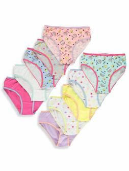 Limited Too Girls' 10-Pack Bikini Panties