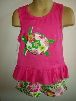 Girls 2 pcs set top & short Szs 4 yrs & up Kids Headquarters