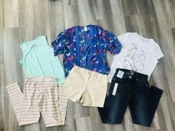 girls clothes size 14 16 lot summer