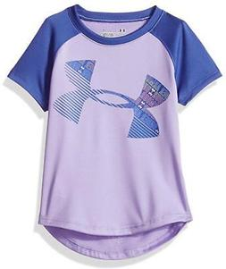 Under Armour Girls Dark Lavender Dry Fit  Logo Top Size 2T 4