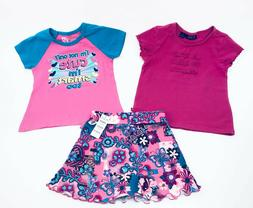 Girls Lot of Clothes Outfits Summer T-Shirts Skort The Child