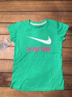 GIRLS NIKE TEE~NWT~SIZE 6X~GREAT COLOR