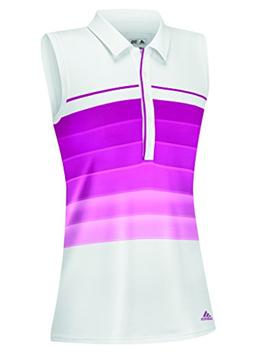 adidas Golf Girl's Pure Motion Gradient 3-Stripes Sleeveless