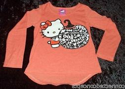 halloween hello kitty youth girls long sleeve