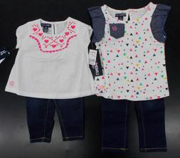 Infant & Toddler Girls Limited Too $40-$42 2pc Shirt & Jeans