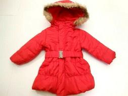 Jackets Girls clothes Fancy Coats Outerwear Hoodie Red Faux