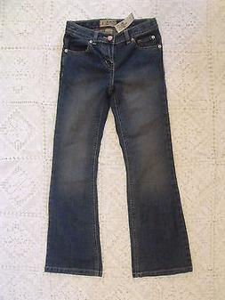 jeans medium wash Girls size 8 boot cut The Children's place