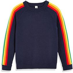 Kid Nation Kids'' Long Sleeve Pullover Sweater Rainbow for B