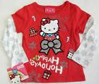 Hello Kitty 12 18 24 Months 3T Holiday Mock Layer Tee Baby T