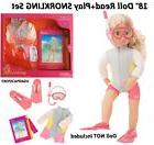 """18"""" Doll Surfing Snorkeling READ+PLAY SET Book+Clothes Outfi"""