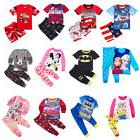 2018 Baby Boys Girls Costume Outfit Sets T-shirt Top+Pants P