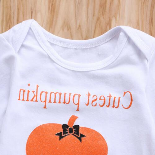 3PCS Baby Girls Halloween Clothes Outfit