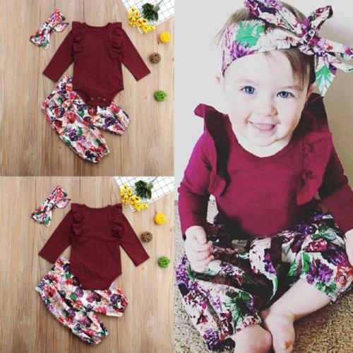 US Stock Pants Outfits Set 0-18M