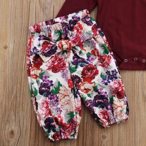 US Girls Romper Pants Outfits 0-18M