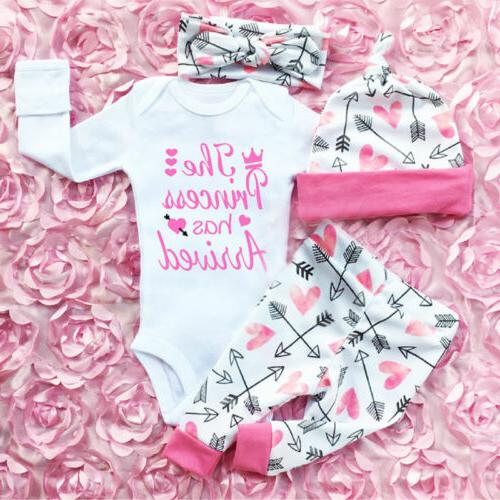 us newborn baby girls clothes romper jumpsuit