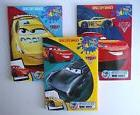 CARS - Lot of 3 Jumbo Coloring and Activity Books for Childr