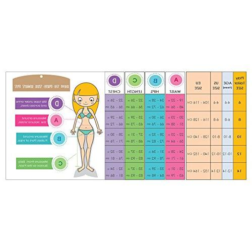Play Tailor Girls Mermaid Tails with and Set Size