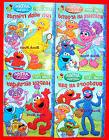 SESAME STREET ~COLORING & ACTIVITY BOOK SET~ 400 PG