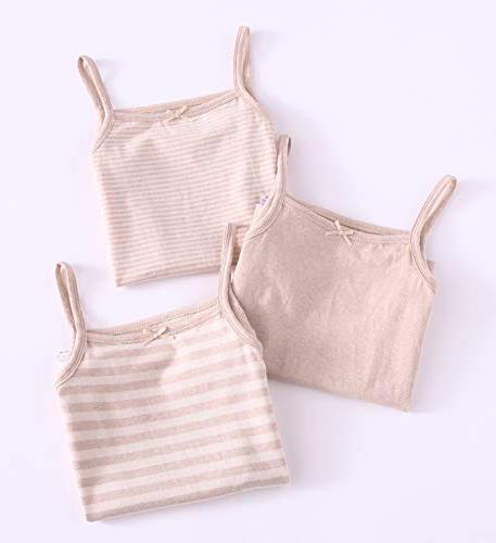 Zegoo Toddler & Camisole Natural 3-Pack
