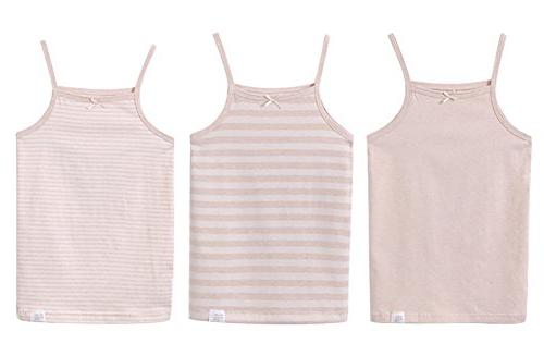 Zegoo Toddler Boys Tank & Camisole Natural Brown 3-Pack