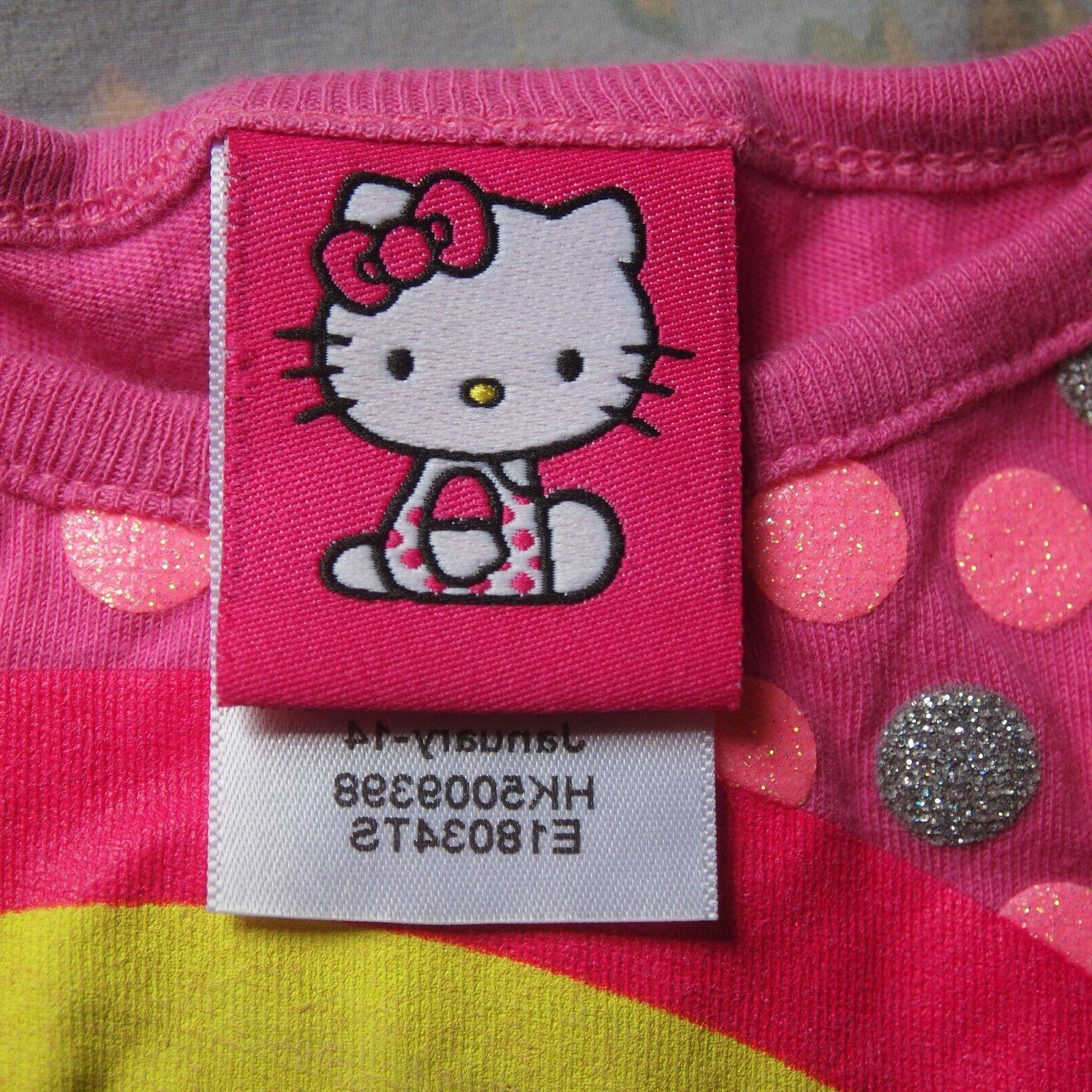 Adorable hello kitty girls t-shirt 6