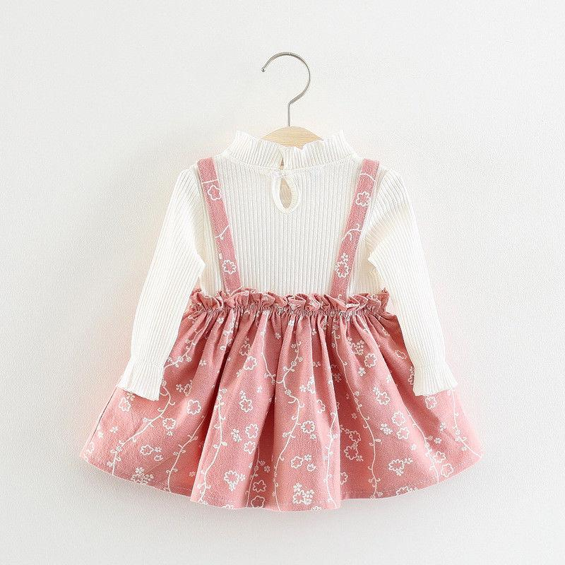 DIIMUU Baby Clothes Dress Kids Clothing Infant Dresses