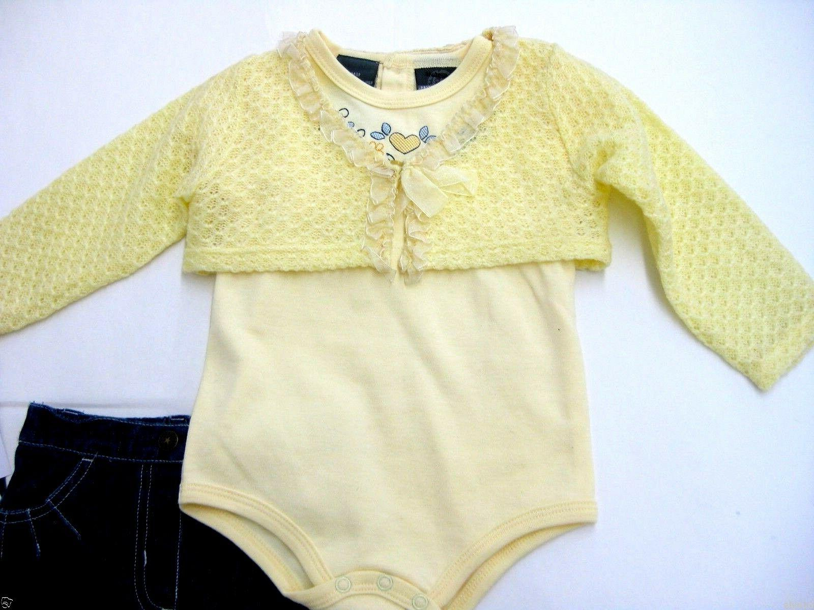 Baby Clothes Girl Suit Long 18m Clearance