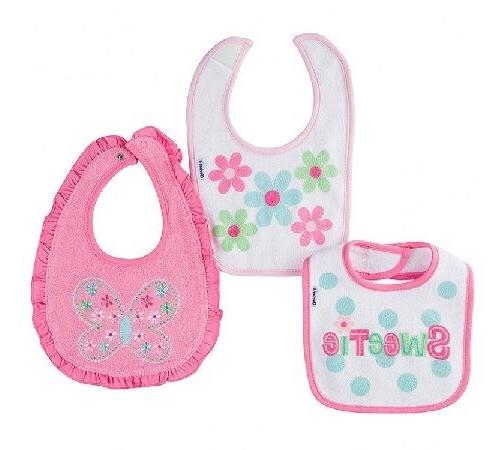 baby girl 3 pack pink butterfly flower